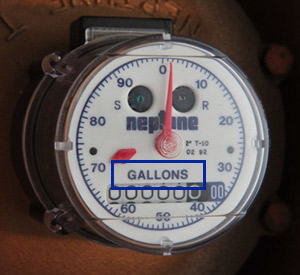 How to Read Your Water Meter | Water Utility Management