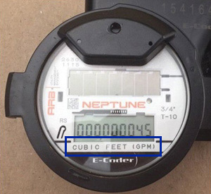 How To Read Your Water Meter Water Utility Management